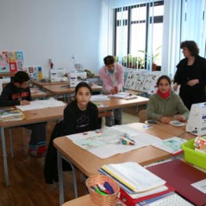 School: Sewing room