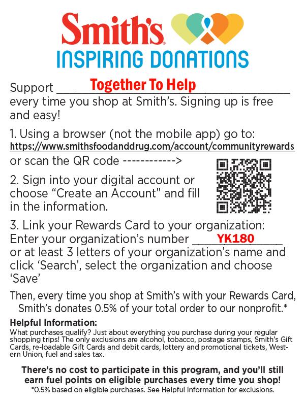 Smith's Inspiring Donations