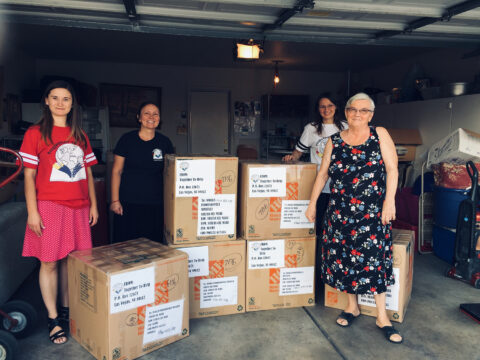 Clothing donations from Project 150