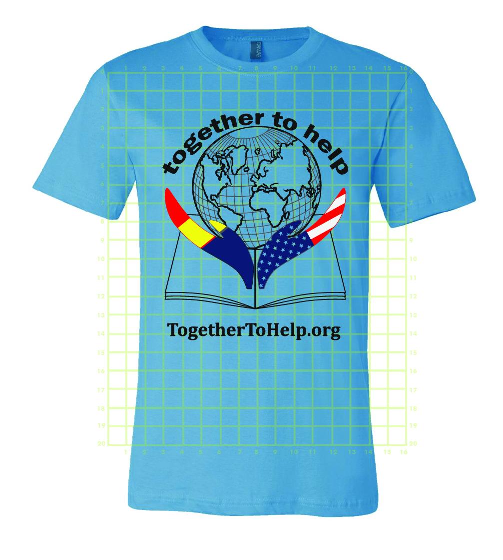 TTH tshirt blue