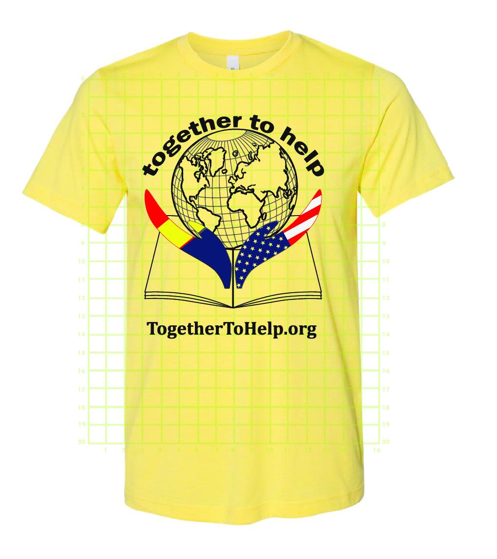 TTH tshirt yellow