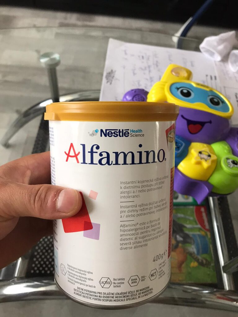 Fundraiser for Cristian: Alfamino by Nestle