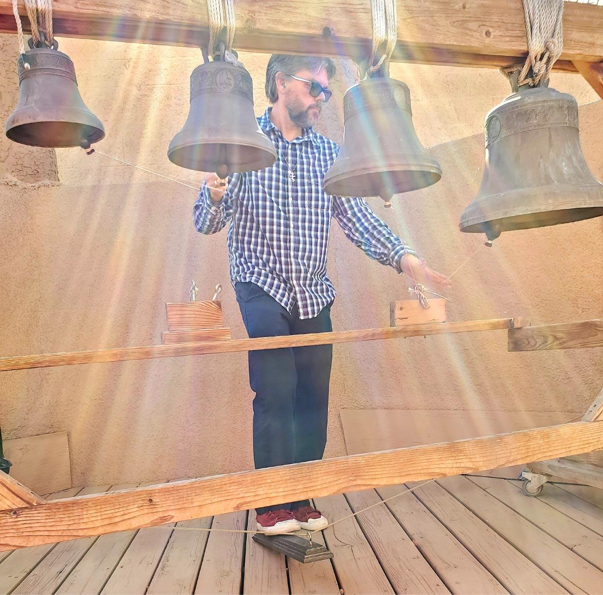 Michael Hayden ringing church bells