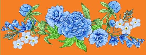 Non-profit organization Newsletter June 2021 (flowers)